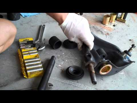 S10 Energy Suspension Bushing Install Front End Complete