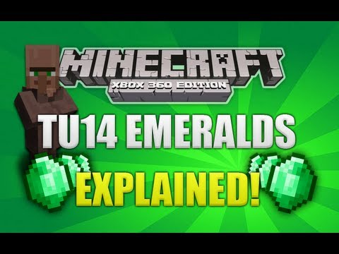 Minecraft Xbox 360 TU14 Emerald Items Explained [GUIDE]