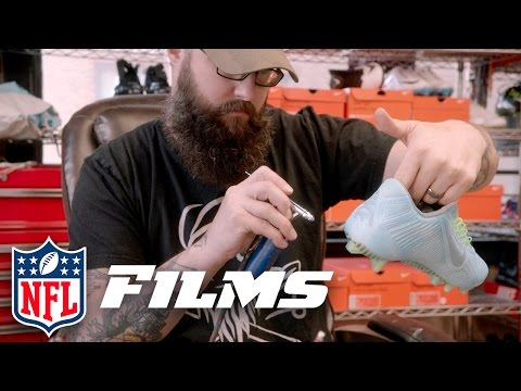 Kickasso: The Picasso of Custom Cleats | NFL Films Presents