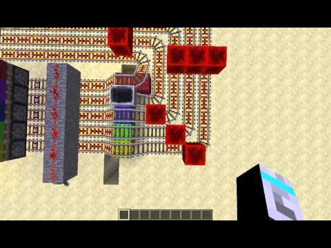 [1.6.2] Rainbow Runner Minigame VANILLA Minecraft!