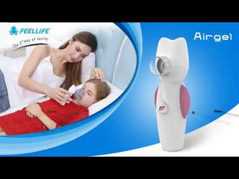 Cleaning Guidance of Feellife Airgel Nebulizer