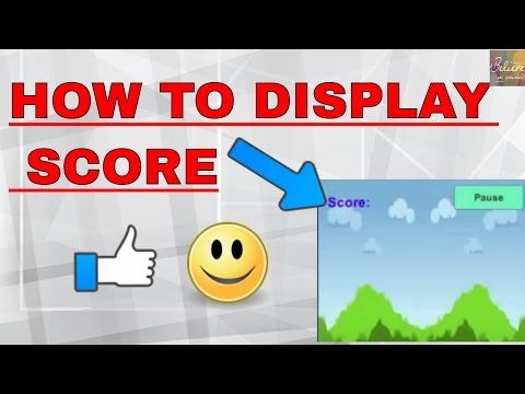 unity Tutorial:Displaying  the Score