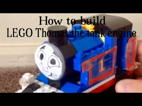 How to build LEGO Thomas the tank engine