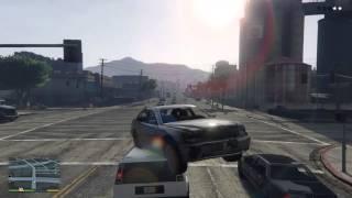 Fast and furious Trevor jumps da cars