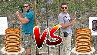 Dueling Pancake Eat Off vs Demolition Ranch!
