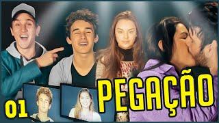 PEGAÇÃO NO SET DO MEU FILME!!! - MAKING OF #1