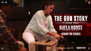 Batla House - Mrunal's Gun Story |Mrunal Thakur, John Abraham, Nikkhil Advani | Releasing15th August