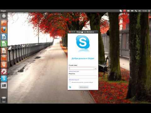 Install Skype on Ubuntu 11.10