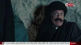 مسلسل بت القبايل - حجاج طلع الجبل يستخبى عند المطاريد وطلب منهم يكون راجل من رجالتهم