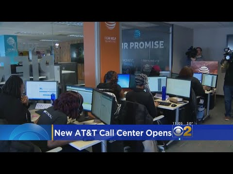 AT&T Cuts Ribbon On New Call Center In Horner Park
