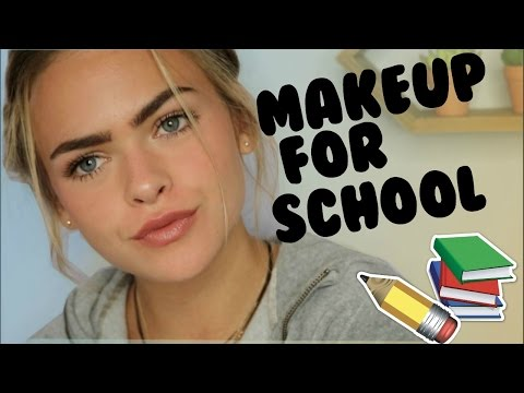Natural Drugstore Makeup Tutorial for School | Summer Mckeen