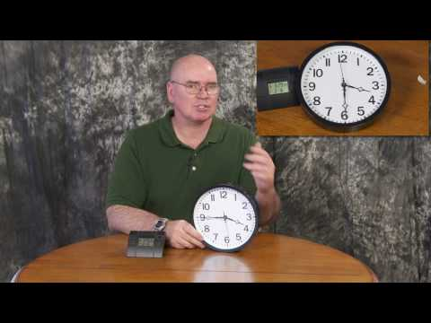 Changing a Regular Clock to a Radio Controlled
