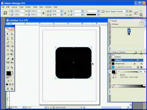 Making Rounded Rectangles in InDesign