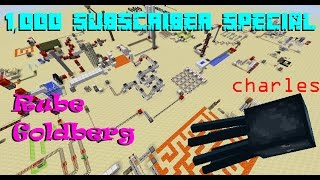 Minecraft Rube Goldberg - Feeding Charles, 1,000 Subscriber Special