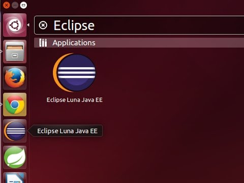 Ubuntu 14.04 - How to Install Latest Eclipse, add to Dash, Launcher and Desktop