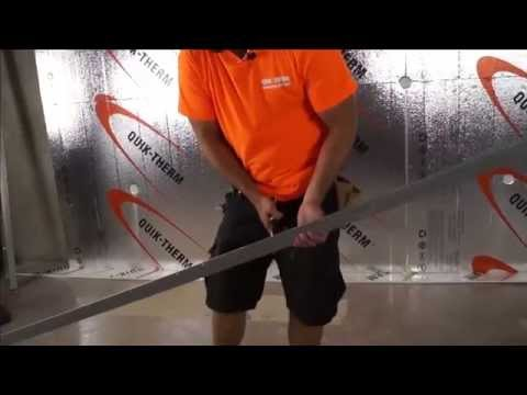 How to Finish a Basement - Insulating Basement Walls - Concrete Insulation System