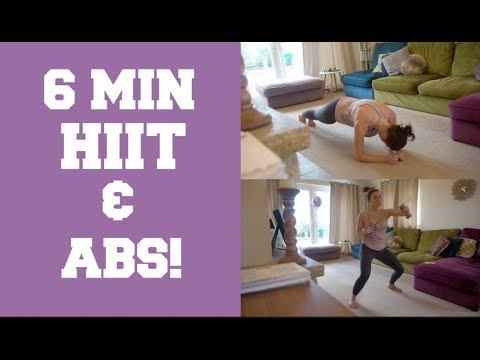6 MIN HIIT & ABS / FITNESS FRIDAY!