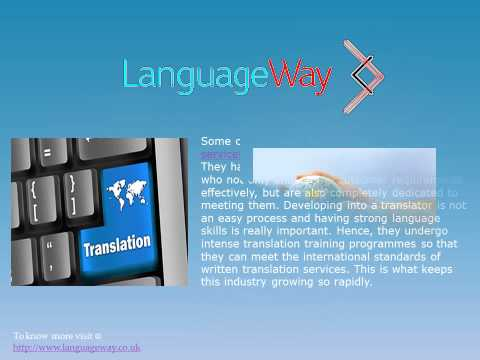 Translation in UK, London Translation Services