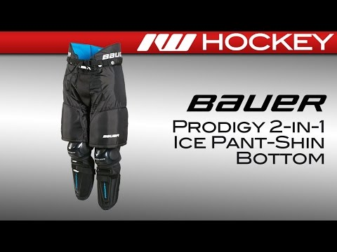 Bauer Prodigy 2-in-1 Ice Pant-Shin Guard Bottom Review