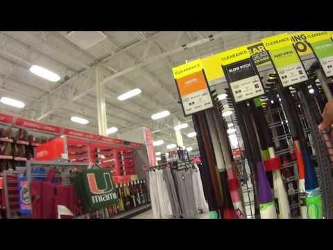 Vida em Miami-EUA SPORT AUTHORITY loja de materiais esportivo em Florida Estados Unidos da America