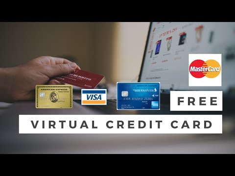 How To Create Free Virtual Credit Card for Free TRIAL and Other Things (Not working)