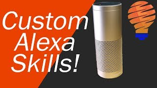 How to Create a Custom Alexa Skill For Your Echo Device - Alexa Blueprint Skills
