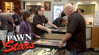 Pawn Stars: Signed Shepard Fairey Posters | History
