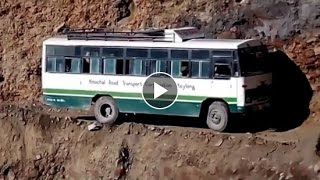 Dangerous Road and Amazing Driver of Chamba | Himachal, India