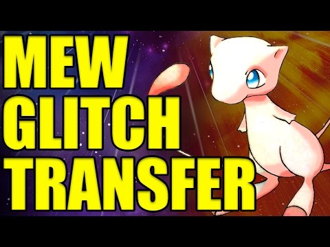 ✔ GLITCH MEW CAN TRANSFER INTO POKEMON SUN AND MOON! 8F Event Mew Glitch