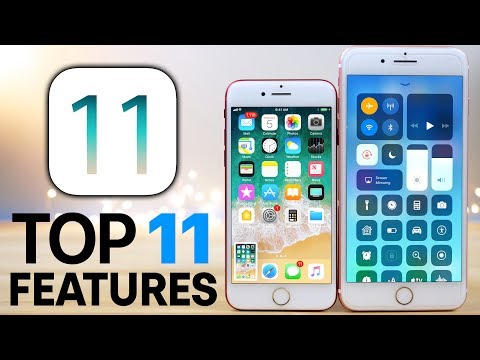 Top 11 iOS 11 Features - What's New Review