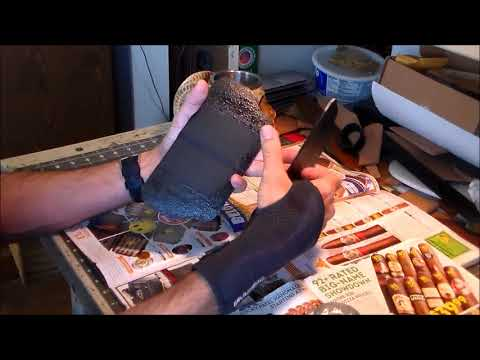 Part 3-6: Glueing Leather Together with Contact Cement