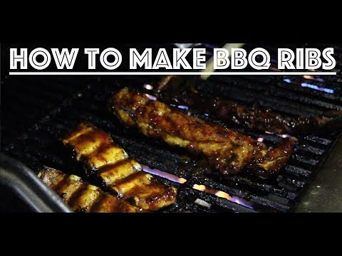 How to make  simple grilled BBQ pork ribs!