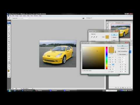 Photoshop Tutorial cs3- Changing car color