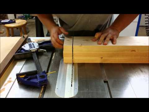 How to Cut Thick Wood on a Table Saw