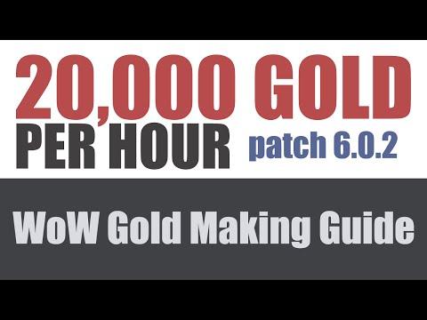 20,000G PER HOUR! 6.0.2 Gold Farming Spot