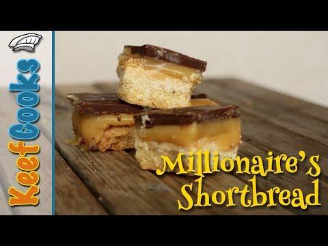 Millionaire's Shortbread | Caramel Shortbread | Caramel Slice