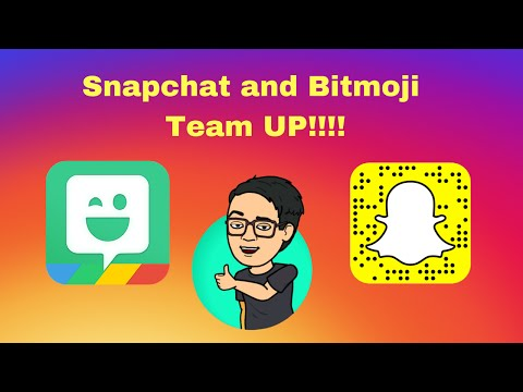 How To Use Bitmoji on Snapchat👻
