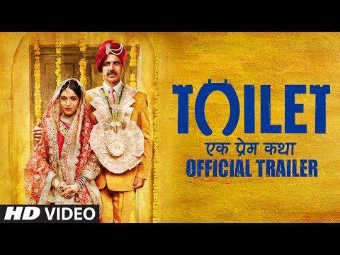 Toilet Ek Prem Katha Official Trailer  Akshay Kumar  Bhumi Pednekar  11 Aug 2017