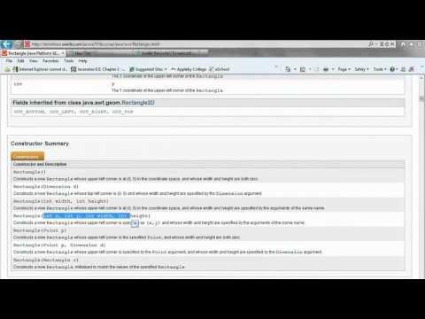 Java Applet Example Video 9/10 - JCreator IDE