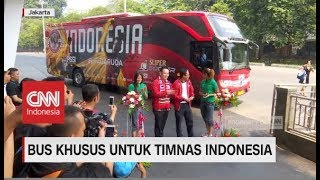 Keren! Bus Khusus Untuk Timnas Indonesia