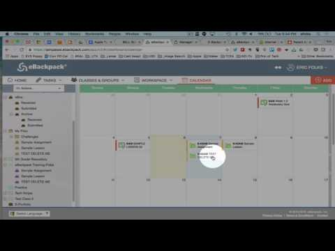 eBackpack HOW TO - Adding Late Assign to the Calendar