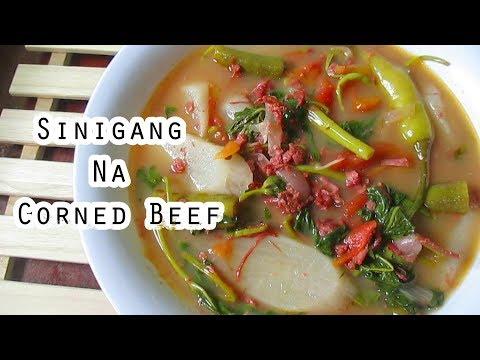 Sinigang Na Corned Beef Recipe