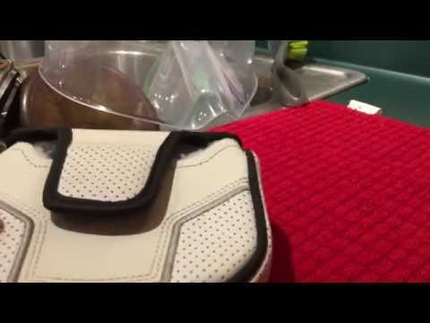 How to clean a dirty golf putter cover easily