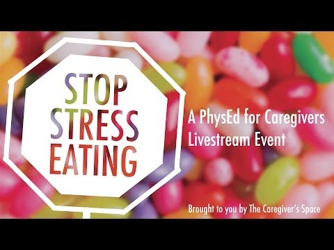 Stop Stress Eating! How to avoid unwanted pounds while caregiving