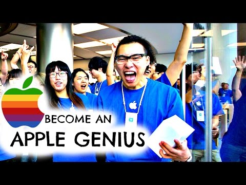 BECOME AN APPLE GENIUS - How to get a Job and work for Apple!