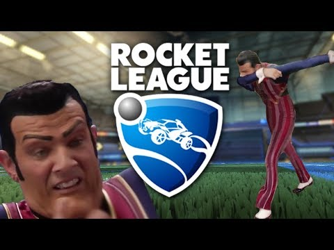Rocket League but every time I score there's a meme