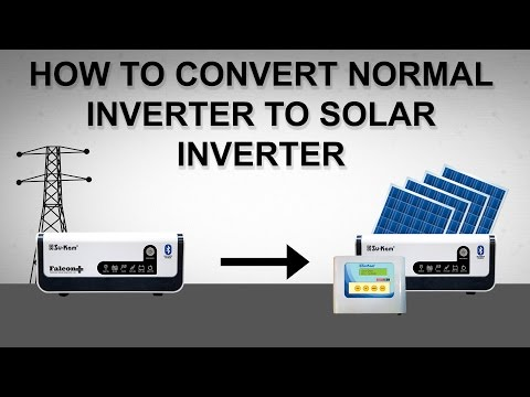 How to Convert Any Ordinary Inverter into Solar Inverter | Su-Kam Solarcon