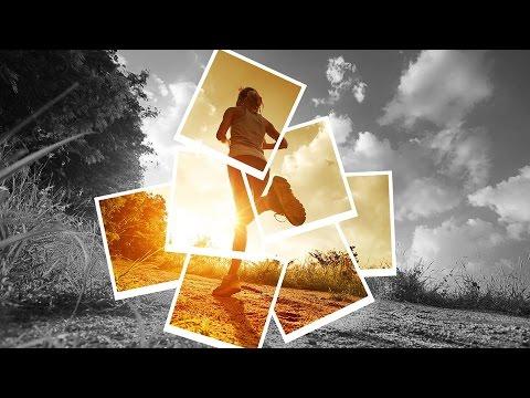 Tutorial Photoshop CS6 - Collage Effect + Color Splash