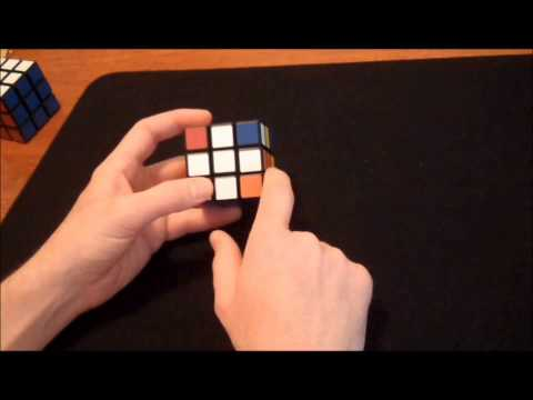 How to solve one side of Rubik's Cube without memorization
