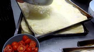 Come fare la Focaccia - Pizza Genovese : Ricette Dolci e cucina
